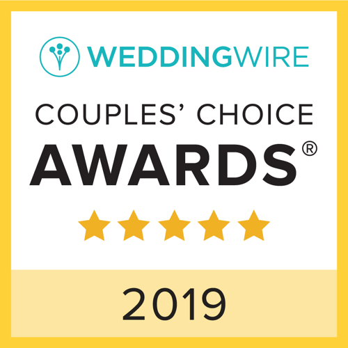 Badge Weddingwire Award